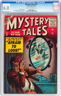 Golden Age (1938-1955):Horror, Mystery Tales #37 (Atlas, 1956) CGC FN 6.0 Cream to off-whitepages....