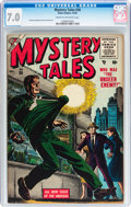 Golden Age (1938-1955):Horror, Mystery Tales #36 (Atlas, 1955) CGC FN/VF 7.0 Cream to off-whitepages....