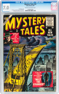 Golden Age (1938-1955):Horror, Mystery Tales #32 (Atlas, 1955) CGC FN/VF 7.0 Cream to off-whitepages....