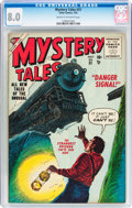 Golden Age (1938-1955):Science Fiction, Mystery Tales #31 (Atlas, 1955) CGC VF 8.0 Cream to off-white pages....
