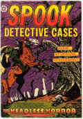 Golden Age (1938-1955):Horror, Spook #22 (#1) (Star Publications, 1953) Condition: VG....