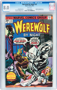 Werewolf by Night #32 (Marvel, 1975) CGC VF 8.0 White pages