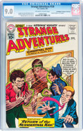 Silver Age (1956-1969):Science Fiction, Strange Adventures #126 Don/Maggie Thompson Collection pedigree (DC, 1961) CGC VF/NM 9.0 Off-white to white pages....
