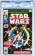 Bronze Age (1970-1979):Superhero, Star Wars #1 Don/Maggie Thompson Collection pedigree (Marvel, 1977) CGC NM/MT 9.8 White pages....