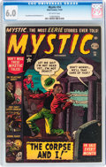 Golden Age (1938-1955):Horror, Mystic #14 (Atlas, 1952) CGC FN 6.0 Off-white pages....