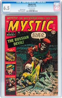 Mystic #18 (Atlas, 1953) CGC FN+ 6.5 Off-white pages