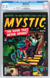 Mystic #20 (Atlas, 1953) CGC VF- 7.5 Cream to off-white pages
