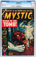 Golden Age (1938-1955):Horror, Mystic #22 (Atlas, 1953) CGC VF+ 8.5 Cream to off-white pages....