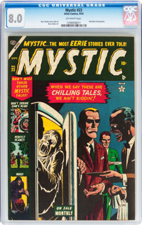 Mystic #23 (Atlas, 1953) CGC VF 8.0 Off-white pages