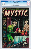 Golden Age (1938-1955):Horror, Mystic #26 (Atlas, 1954) CGC FN+ 6.5 Cream to off-white pages....