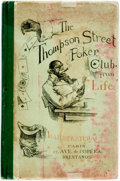 """Books:Literature Pre-1900, [African American Dialect Tales]. [Henry Guy Carleton]. The Thompson Street Poker Club; from """"Life"""". [New York: Whit..."""