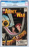 Silver Age (1956-1969):War, Our Army at War #83 (DC, 1959) CGC VG- 3.5 Off-white pages....