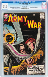 Our Army at War #83 (DC, 1959) CGC VG- 3.5 Off-white pages