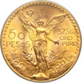 Mexico, Mexico: Republic gold 50 Pesos 1925 MS65 PCGS,...