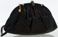 Luxury Accessories:Bags, Gucci Black Snakeskin Evening Bag. ...