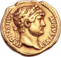 Ancients:Roman Imperial, Ancients: Hadrian (AD 117-138). AV aureus (18mm, 7.31 gm, 5h). ...