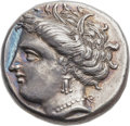 Ancients:Greek, Ancients: LOCRIS. Locris Opuntii. Ca. 370-350 BC.  AR stater(24mm, 12.14 gm, 11h)....
