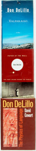 Books:Literature 1900-up, [Don Delillo]. Trio of Signed First Editions. Various publishersand dates. Signed by the author on half-title and title p...(Total: 3 Items)