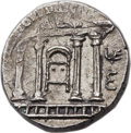 Ancients:Judaea, Ancients: JUDAEA. Bar Kokhba Revolt (AD 132-135). AR sela (25mm, 14.47 gm, 1h). ...