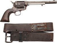 Colt Single Action Army Revolver with Bridgeport Rig