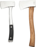 Edged Weapons:Other Edged Weapons, Lot of Two Marble's Hatchets.... (Total: 2 Items)