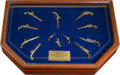 """Miscellaneous:Booklets, Cased Set of """"Great Pistols of America"""" Miniatures by U.S.Historical Society...."""