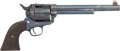 Handguns:Single Action Revolver, Cased Colt Single Action Army FlattopTarget Revolver....