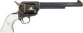 Handguns:Single Action Revolver, Alvin White Engraved Colt Single Action Army Revolver....