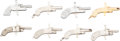 Handguns:Other, Lot of Eight Assorted Percussion Style Miniature Pistols....