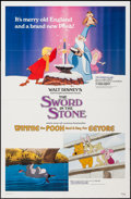 """Movie Posters:Animation, The Sword in the Stone/Winnie the Pooh and a Day for Eeyore Combo & Others Lot (Buena Vista, R-1983). One Sheets (3) (27"""" X ... (Total: 15 Items)"""