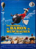 "Movie Posters:Adventure, The Adventures of Baron Munchausen (Columbia, 1989). French Grande(45.5"" X 62"") & French Petite (15"" X 20.5""). Adventure.. ...(Total: 2 Items)"