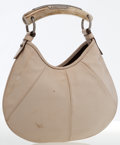 Luxury Accessories:Bags, Yves Saint Laurent Beige Leather Mombasa Bag by Tom Ford. ...