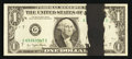 Error Notes:Ink Smears, Fr. 1909-G $1 1977 Federal Reserve Note. Choice CrispUncirculated.. ...