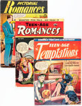 Golden Age (1938-1955):Romance, Golden Age Matt Baker Related Romance Group (Various Publishers,1940s-50s) Condition: Average GD/VG.... (Total: 6 Comic Books)