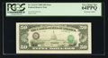 Error Notes:Third Printing on Reverse, Fr. 2123-G $50 1988 Federal Reserve Note. PCGS Very Choice New 64PPQ.. ...
