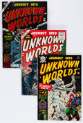 Golden Age (1938-1955):Horror, Journey Into Unknown Worlds Group (Atlas, 1953-56).... (Total: 4Comic Books)