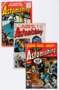 Golden Age (1938-1955):Horror, Astonishing Group (Atlas, 1952-57) Condition: Average VG-....(Total: 8 Comic Books)