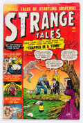 Golden Age (1938-1955):Horror, Strange Tales #2 (Atlas, 1951) Condition: GD+....