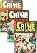 Golden Age (1938-1955):Crime, Fight Against Crime Group (Story Comics, 1954).... (Total: 4 Comic Books)