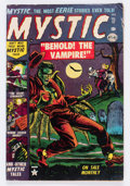 Golden Age (1938-1955):Horror, Mystic #17 (Atlas, 1953) Condition: VG....