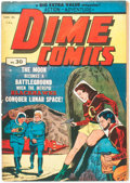 Golden Age (1938-1955):Science Fiction, Dime Comics #30 (Bell Features, c. 1950) Condition: VG/FN....