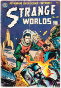 Golden Age (1938-1955):Science Fiction, Strange Worlds #19 (Avon, 1955) Condition: GD/VG....