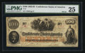 Confederate Notes:1862 Issues, Error T41 $100 1862 PF-24 Cr. 320C.. ...