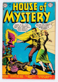 Golden Age (1938-1955):Horror, House of Mystery #10 (DC, 1953) Condition: VF-....
