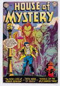 Golden Age (1938-1955):Horror, House of Mystery #7 (DC, 1952) Condition: FN+....
