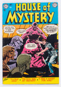 Golden Age (1938-1955):Horror, House of Mystery #6 (DC, 1952) Condition: FN+....