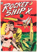 Golden Age (1938-1955):Science Fiction, Rocket Ship X #1 (Fox, 1951) Condition: VG-....