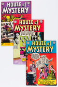 Golden Age (1938-1955):Horror, House of Mystery Group (DC, 1953-57) Condition: Average VG/FN....(Total: 8 Comic Books)