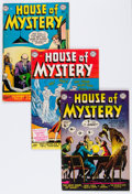 Golden Age (1938-1955):Horror, House of Mystery #11, 12, and 14 Group (DC, 1953) Condition:Average FN-.... (Total: 3 Comic Books)