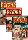 Golden Age (1938-1955):Horror, The Beyond Group (Ace, 1952-54) Condition: Average VG.... (Total: 5Comic Books)